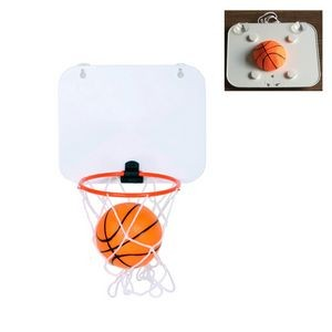 Toy Basketball and Hoop Set